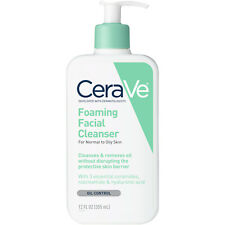 CeraVe Foaming Facial Cleanser, 12 OZ Each