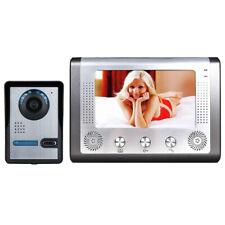 """7"""" LCD Video Door Phone Doorbell Intercom Kit 1-camera 1-monitor Night Vision"""