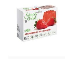 12 x 20g SIMPLY DELISH Strawberry Jel Dessert