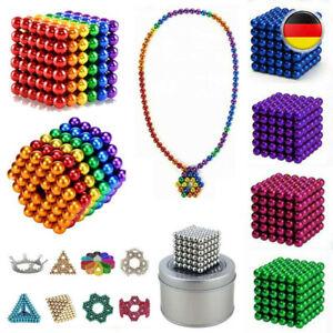 216pcs 3/5mm Magnet Magnet Neodym Würfel Kugeln Sphere DIY Stress Relief DE
