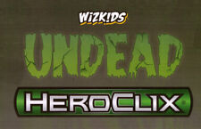 HEROCLIX UNDEAD Skeleton 003 Champion 012 (Monster, Army) LOT X 3