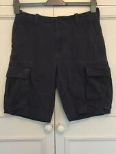 TOMMY HILFIGER, NAVY BLUE KHAKIS SHORTS, WAIST 29 inches.
