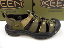 KEEN MENS SANDALS NEWPORT HYDRO DARK OLIVE ANTIQUE BRONZE SIZE 9.5