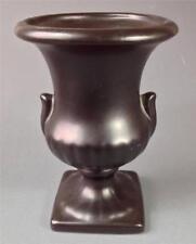 Retro deco 50s-60s eames black ceramic vase Raynham pottery