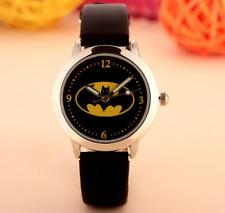 Batman Children's Watch Fashion Novelty Luminous Quartz Wristwatch Kids Boys