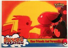 1998 Pikachu's Vacation Movie Tv Tokyo #59 Nintendo GameFreak anime Photo Card