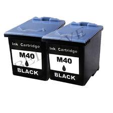 2 CARTUCCE RIGENERATO PER SAMSUNG INK-M40 SF 330 SF 335T  SF 340  SF 345TP