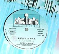 """BROWN SUGAR Gipsy & Queen 12""""  ITALO TIME-RECORDS RARE"""