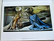 Salvador Dali Poster Tristan and Isolde Design for the Set of the Ballet 14x11