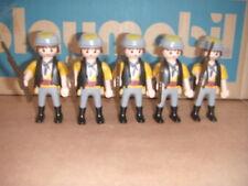 Playmobil SOLDADOS, INGLES, FRANCES, NORDISTA, OFICIAL
