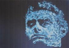 NEGATIV SERIE - original Porträt - signiert Gemälde Druck - Sammlerstück selten1