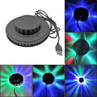 5W USB RGB Sound aktiviert Rotations-Disco-Licht LED Ball Party Stage Strobe Lam