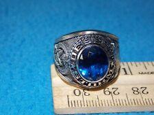 Vintage - Desert Storm Men'S Blue Stone Ring Size 11 - New Old Stock- Alpha