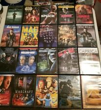Science Fiction Dvd Lot Star Wars Mad Max Warcraft Hallowman Godzilla King Kong