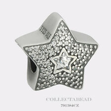 Authentic Pandora Sterling Silver Wishing Star CZ Bead 791384CZ *SPECIAL*