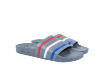 dd30fad03246 PALACE X ADIDAS SS18 Adilette Slides Grey Red Blue Size 8 IN HAND