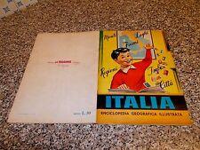 ALBUM ITALIA LA FOLGORE 1965 COMPLETO ORIGINALE BELLO DA EDICOLA NO PANINI LAMPO