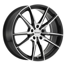 19 inch 19x8 PETROL P0A Gloss Black wheel rim 5x100 +35
