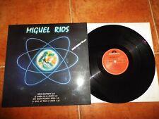 MIGUEL RIOS Niños electricos MAXI SINGLE VINILO PROMO AÑO 1984 ROSENDO MERCADO