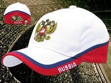 """Russland Kappe 12 """"RUSSIA""""  + neu + Fan WM 2018 Cap  Russia 100 % Baumwolle"""