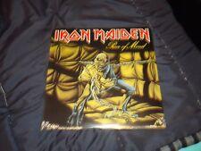 "IRON MAIDEN LP PIECE OF MIND ""SEALED"" ORIG.1983 CAPITOL"