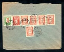 Lithuania - 1933 Cover from Kaunas to  Panevezys