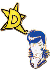 *NEW* Space Dandy: Dandy with D-Star Pin (Set of 2) by GE Animation