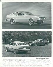 1977 Plymouth Arrow Views Original News Service Photo
