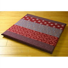 Japanese cushion Set of 5 Red Made in japan Stiff cotton
