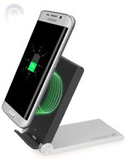 Qi-Enabled Wireless Folding Charging Dock Station for Galaxy S8 S7 S6 Edge Note
