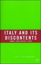 Italy and Its Discontents: Family, Civil Society, State by Ginsborg, Paul