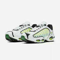NIKE AIR MAX TAILWIND IV - WHITE / VOLT GREEN / BLACK AQ2567 100 - EU 44, UK 9