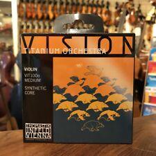 Thomastik VISION TITANIUM Orchestra 4/4 Violino Corde frase 4/4 Violin strings set