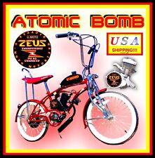 "COMPLETE DIY 2-STROKE 66CC/80cc MOTORIZED BIKE KIT WITH 20"" LOW RIDER BIKE!"
