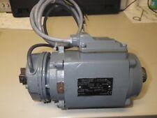 RAS Folding Machine beam adjust motor with brak Part # 174750  EMOD OLB56S/2X