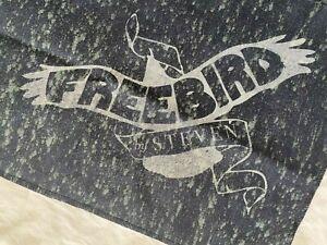 """Freebird by Steven Boot Dust Rag w/ Freebird Logo Approx. 43""""L by 12""""H"""