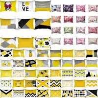 2019 Pineapple Leaves Pillow Case Sofa Car Waist Throw Cushion Cover Home Decor