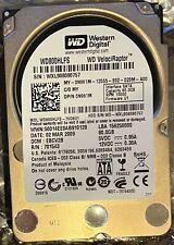 "WESTERN DIGITAL 80GB VELOCIRAPTOR WD800HLFS ENTERPRISE 2.5"" SATA HARD DISK DRIVE"