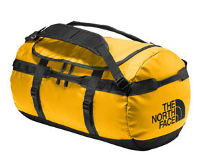 2021 THE NORTH FACE BASE CAMP DUFFEL BAG SIZE S SUMMIT GOLD / TNF BLACK