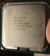 Procesor intel pentium 4 3,6 ghz/2M/800