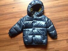 Crewcuts Boys marshmallow puffer jacket Size 3 NAVY BLUE $138 soldout NWT