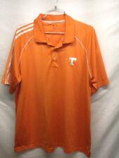 various colors 84bf6 8ef1e Para Hombre Adidas Golf Climacool Manga Corta Camisa Polo Talla L Grande  Naranja Tn