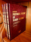 Pictorial History of Black America By Ebony - 3 Volume Sets NEW 1971 1st Edition