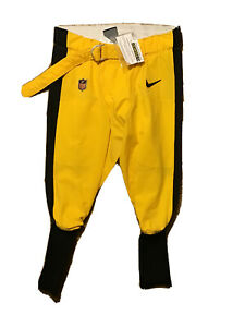 Maurkice Pouncey Pittsburgh Steelers 2019 Nike Game Used Pants