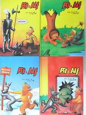 4 x Comic -Pit & Alf - Hardcover - Band 1,2,4 und 5 - Hethke
