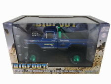 1/43 Greenlight Diecast Bigfoot #1 Monster Truck 1974 Ford F250 F-250 Blue 86097