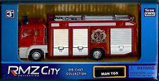 RMZ City Collection - Red MAN TGS Fire Engine Truck - (HL156-FIREENGINE)