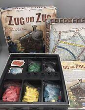 Zug um Zug - Days of Wonder - Spiel des Jahres 2004 - Brettspiel Guter Zustand