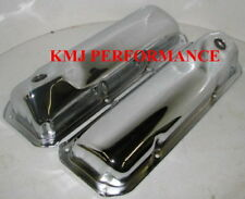 69-82 Ford 351C 351M 400M Chrome Valve Covers - SBF Cleveland Modified Boss 302