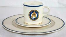 1993 Pfaltzgraff Star Trek Uss Enterprise NCC-1701-A Cup Saucer Dinner Plate Set